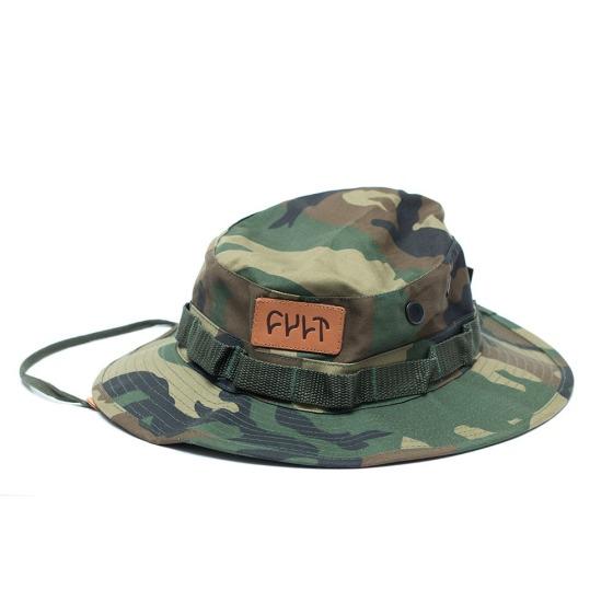 Chapeu Cult BMX Boonie Hat Camuflado R$118