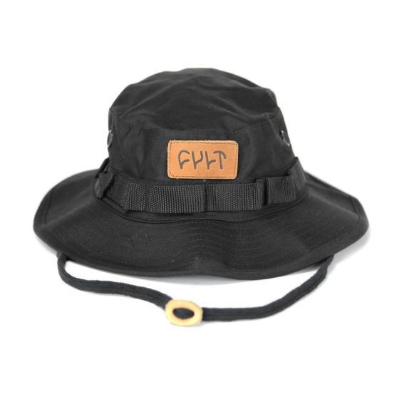 Chapeu Cult BMX Boonie Hat Preto R$118